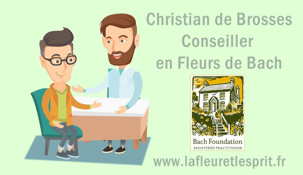 Christian de Brosses, Conseiller en Fleurs de Bach